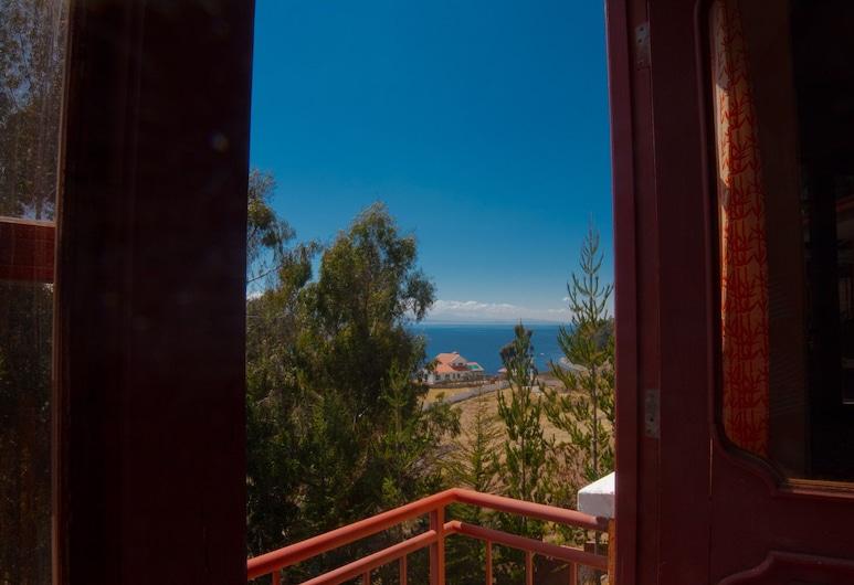 Hotel 3810 Titicaca, Tiquina, Rodinná trojlôžková izba, Balkón