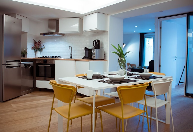 Smartflats City - Central, BRUSEL, Apartmán typu Classic, Súkromná kuchynka