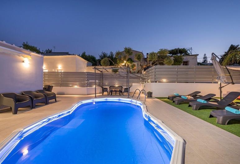 B&M Villa Sirili, Platanias, Villa, Private Pool, Terrace/Patio