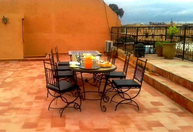 約德酒店, 馬拉喀什, 陽台