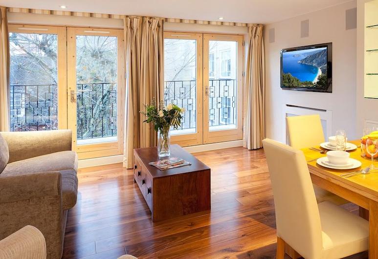 Tavistock Place Apartments, London, Deluxe külaliskorter, Elutuba