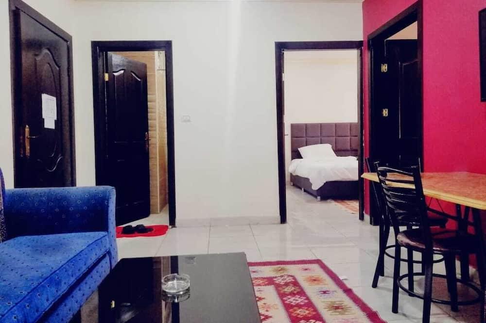 Basic-Apartment - Wohnzimmer