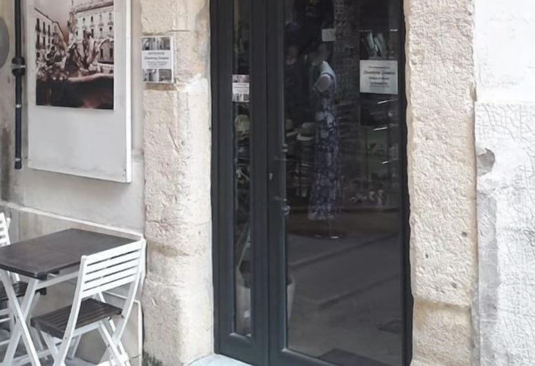 Affittacamere Simopiero, Siracusa, Hotellets indgang