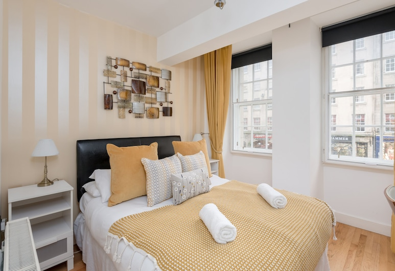 Silver Lining - Luxury Jackson Apartment, Edinburgh, Deluxe appartement, Kamer