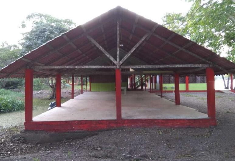 Centro Ecoturístico Las Margaritas, Catemaco, Terraza o patio