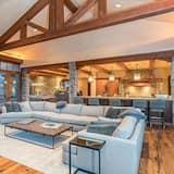 アパートメント ベッド (複数台) (TWO TRAILS - Luxury Home, Ski-in/Ski-) - リビング ルーム