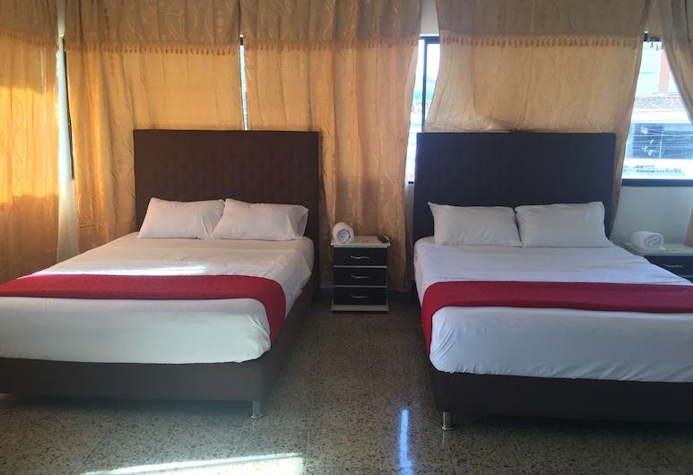 Hotel Paraiso Chipichape, קאלי, חדר סטנדרט טווין, 2 מיטות זוגיות, נוף לעיר, נוף מחדר האורחים