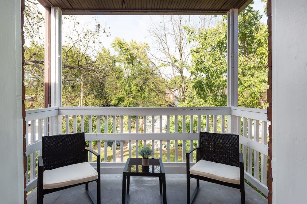 奢華複式房屋, 2 間臥室, 非吸煙房, 廚房 - 陽台