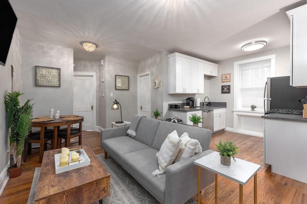 高級複式房屋, 2 間臥室, 非吸煙房, 廚房 - 客廳