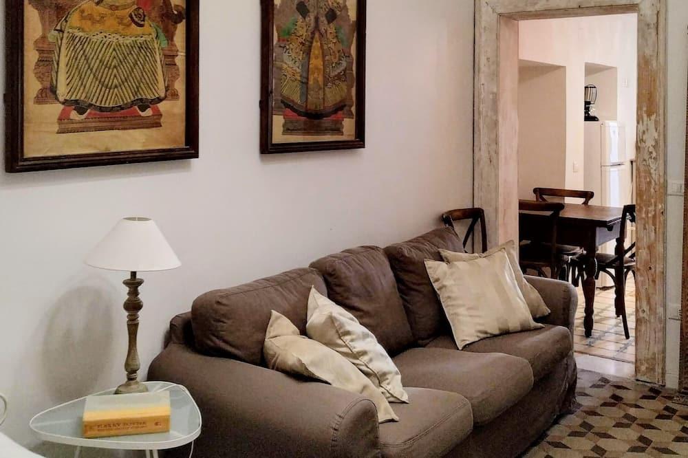 Appartement, 1 chambre, cuisine - Salle de séjour