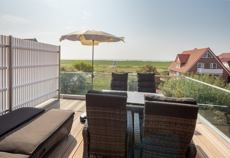 Winkelschiffchen II, Juist, Apartment, Sea View (Koje, incl. EUR85 Cleaning Fee), Terrace/Patio