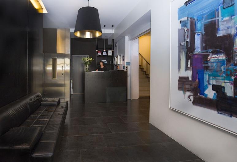 Room With a View Hotel, Reikiavik, Lobby