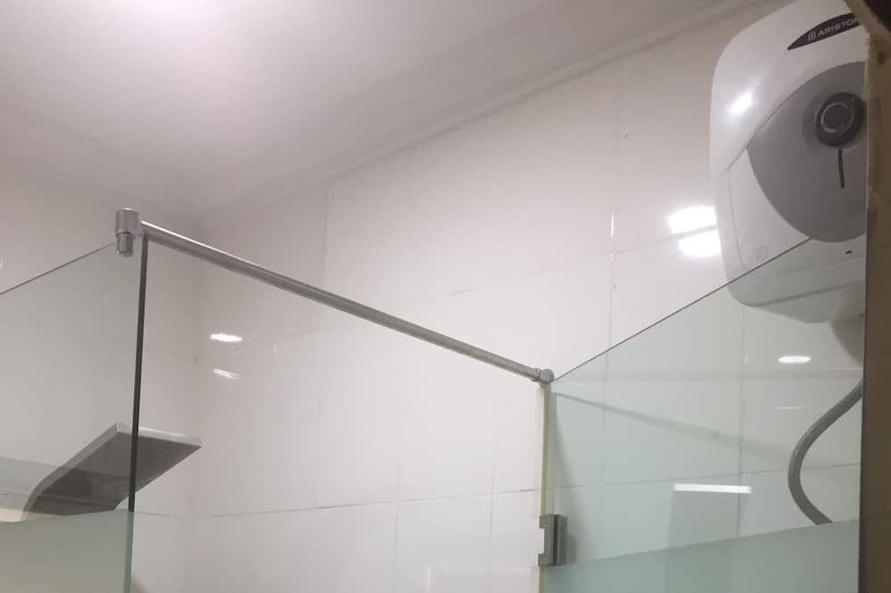 Deluxe kamer, 1 twee- of 2 eenpersoonsbedden - Badkamer