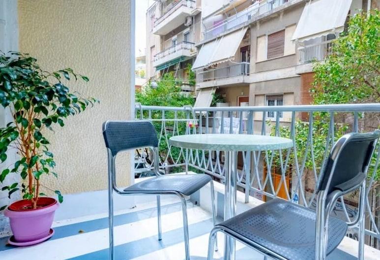 S&K Polyxene Suite in Center of Athens, Atenas, Apartamento, Varanda