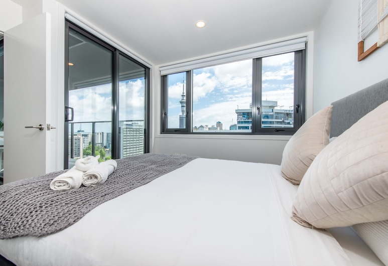 Ehome - Queen St Living 2 Bed & 2 Bath With Skytower View, Auckland, City Apartment, 1 Bedroom, Non Smoking, Room