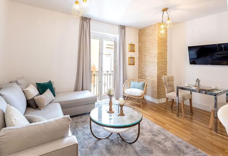 Cozy Apartment 1Bd in the Heart of the City Center. Francos VII, Seville, Obývačka