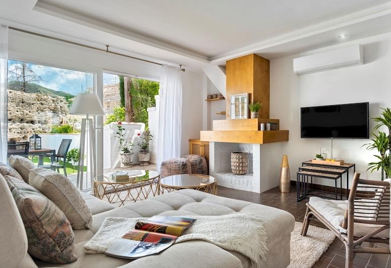 Amazing House 5 Bd in Albaicín With Private Terrace & Pool. San Nicolas Belvedere, Granada, Hus (5 Bedrooms), Stue