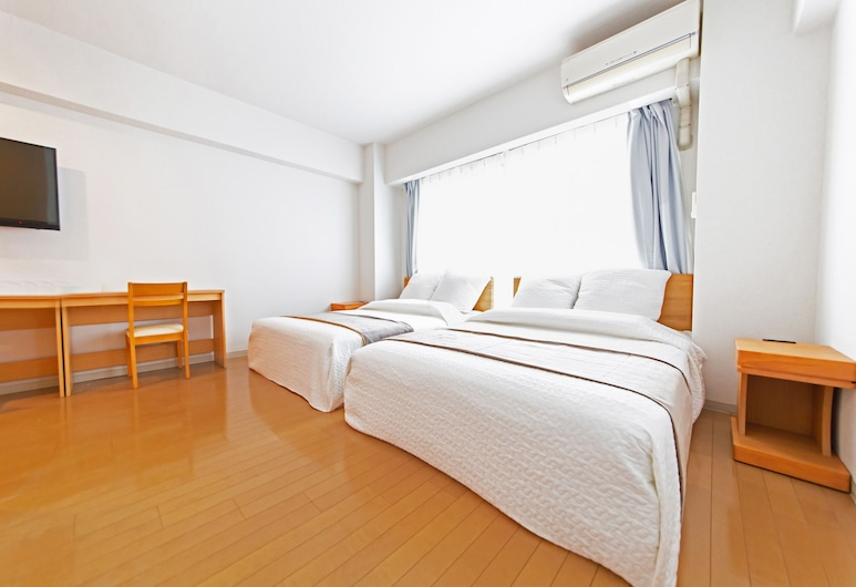 Grandouce公寓-上本町, Osaka, 開放式客房, 客房