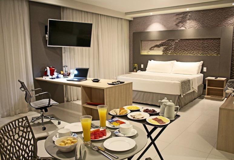 TRYP by Wyndham Manaus, Manaus, Premium-Zimmer, 1King-Bett, Nichtraucher, Zimmer