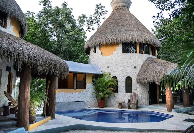 Raíces del Cielo Oasis Holístico, Puerto Morelos
