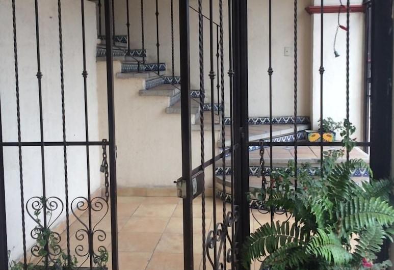 Hotel Amador, Tepoztlan, Interior Entrance