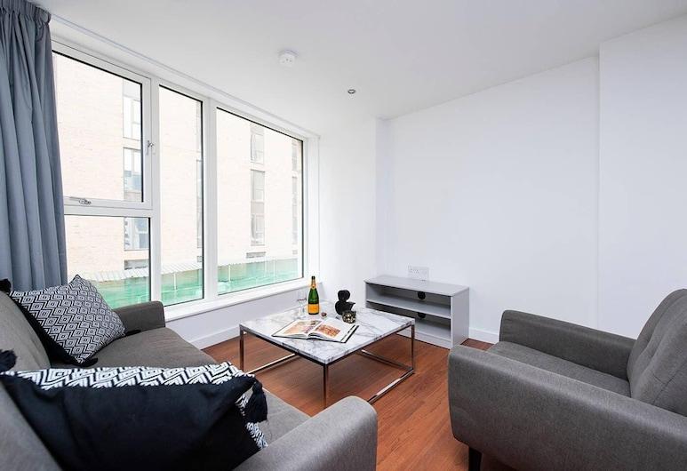 Stunning 2 Bedroom City Break Apartment, Birmingham, לופט, 2 חדרי שינה, סלון
