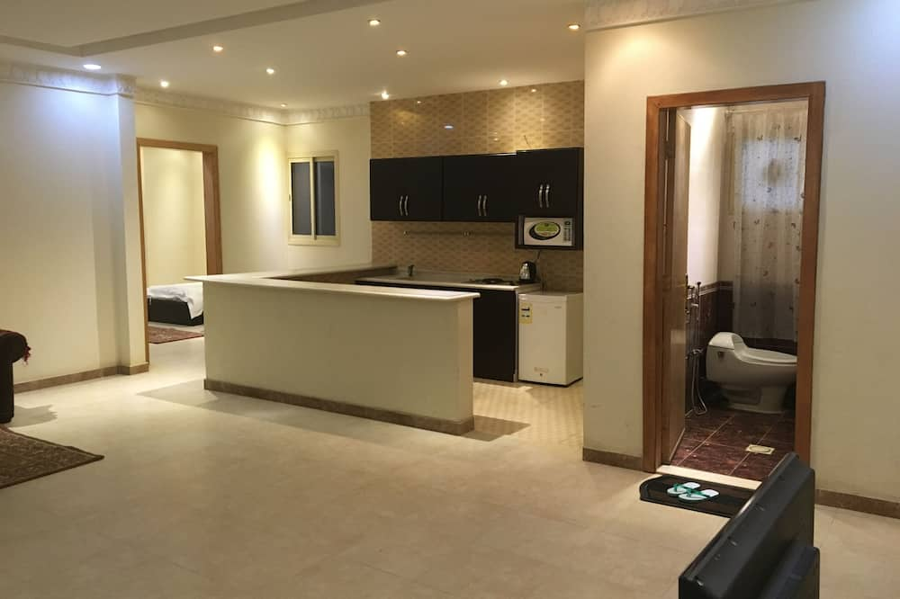 Familienapartment, 2Schlafzimmer - Wohnbereich
