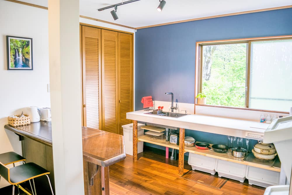 Japanese Style Room for 4 Guests - Shared kitchen