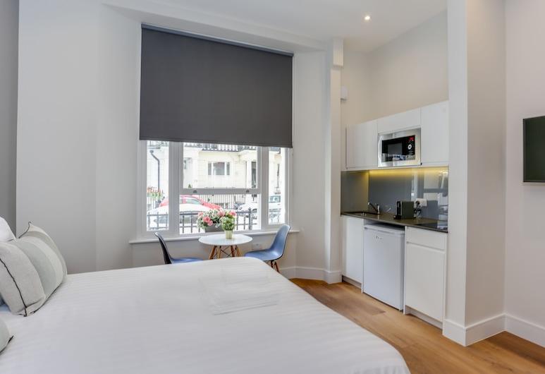 Queensborough Terrace Service Apartments, London, Deluxe-Apartment, Zimmer