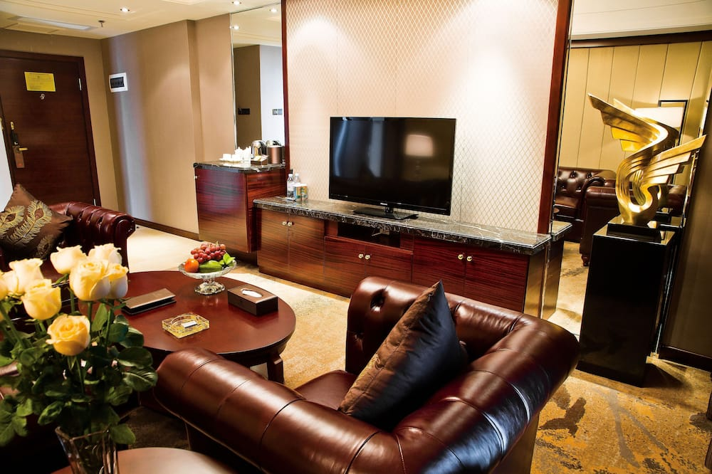 Paaugstināta komforta luksusa numurs - Dzīvojamā zona