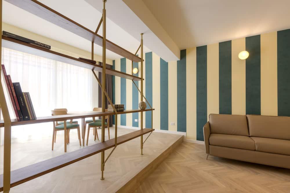 Appartement Deluxe, 1 chambre - Salle de séjour