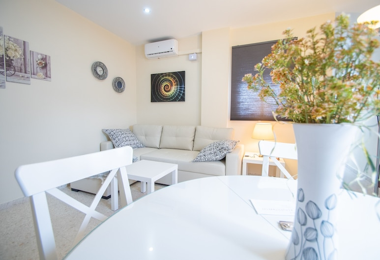 Apartamento Cadiz´s Angel, Cadiz, City-Apartment, 1 Schlafzimmer, Wohnzimmer