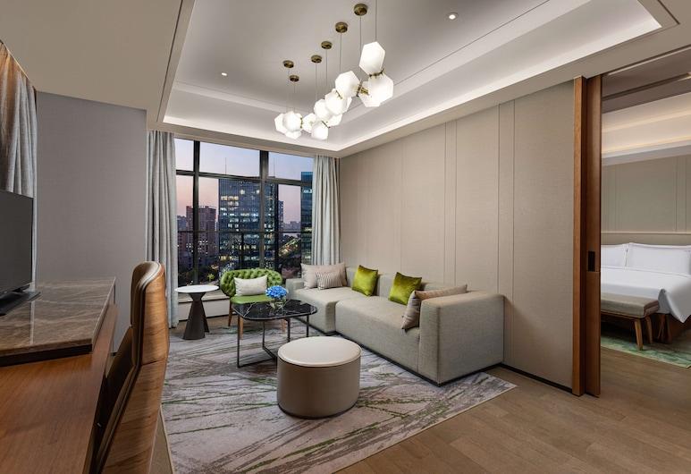 Holiday Inn Hangzhou Binjiang, an IHG Hotel, Hangzhou, Apartmán typu Junior, 1 extra veľké dvojlôžko, nefajčiarska izba, Hosťovská izba