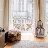 Premium appartement, 1 slaapkamer, Balkon, Uitzicht op de stad - Balkon