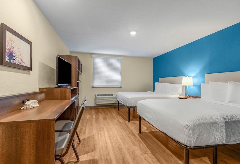 WoodSpring Suites Naples West, Naples, Standard Room, 2 Queen Beds, Non Smoking, Guest Room
