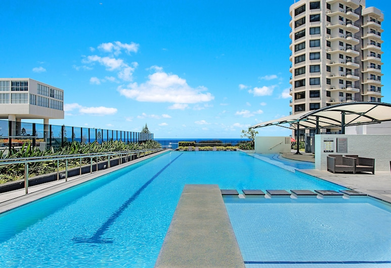 Oracle Resort Private 3 Bed SubPenthouse, Broadbeach, Piscina al aire libre