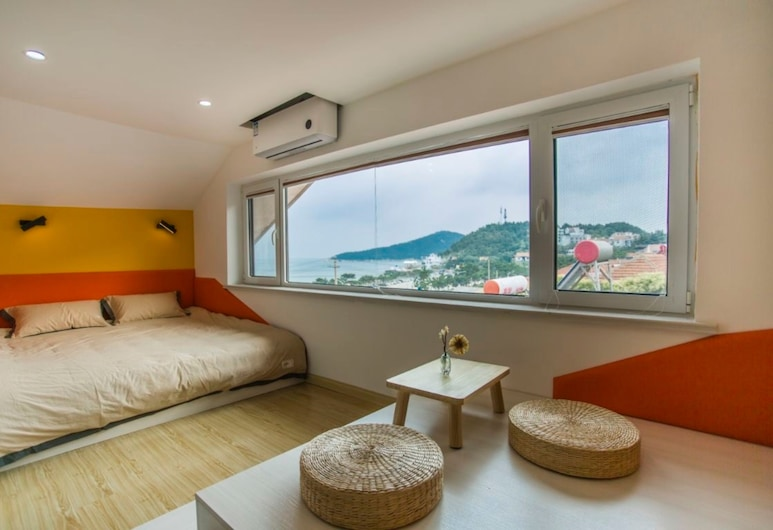 Small Island, Qingdao, Double Room with Sea view, Guest Room