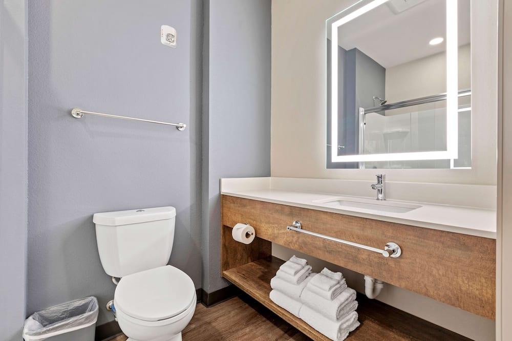Standard-studiolejlighed - 1 queensize-seng - ikke-ryger - køleskab (Microwave) - Badeværelse