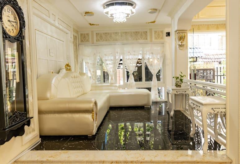 Fin Villa Hostel, Ho Chi Minh City, Sittområde i lobbyn