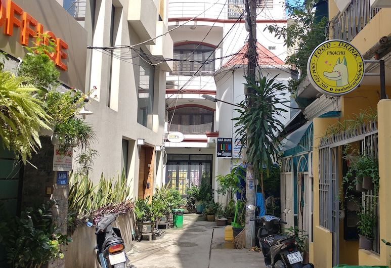 Rubick Serviced Apartments, Ho Chi Minh City, Courtyard