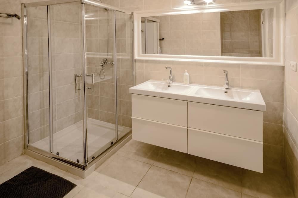 Appartement, 1 slaapkamer, terras - Badkamer