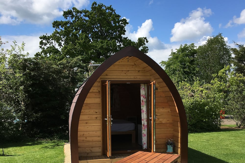 Double Glamping Pod - Terrace/Patio