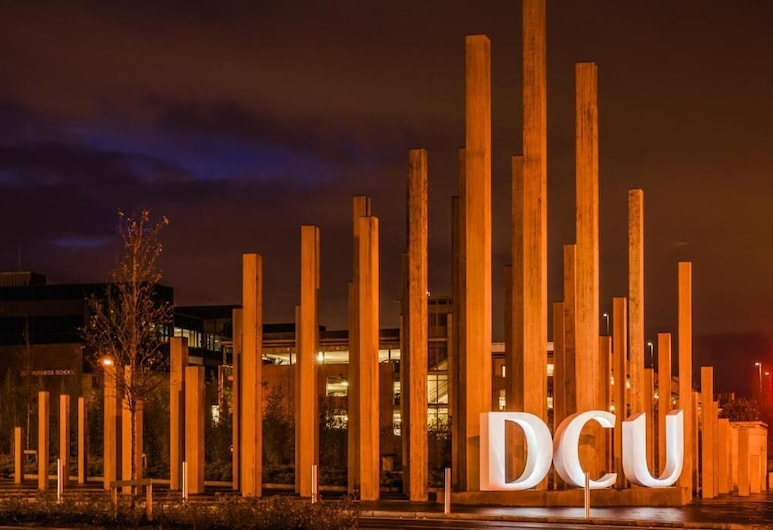 DCU Apartments, Dublin, Front of property - evening