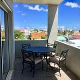 Apartamento de Luxo, 2 Quartos (Blue Sky) - Varanda