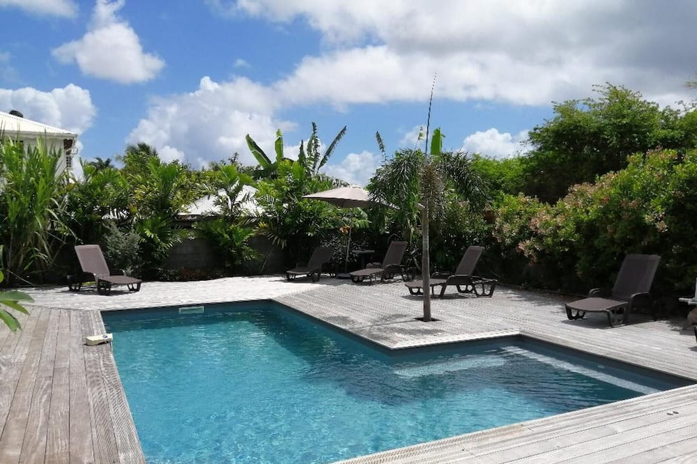Villa With 3 Bedrooms in Saint-françois, With Private Pool, Enclosed Garden and Wifi - 5 km From the Beach
