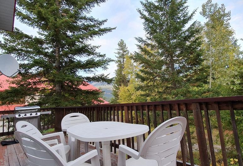 Alpine Meadows Lodge, Golden, Domek, Balkon