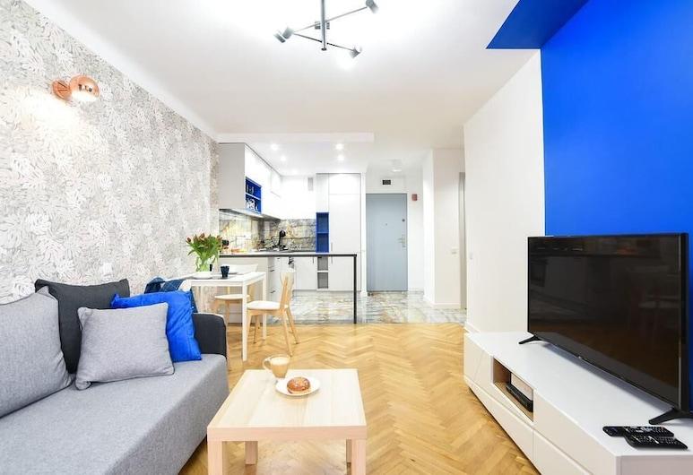 Cosy Apartments - Heart of Warsaw, ורשה, דירה, חדר שינה אחד (Stone&Nature), חדר