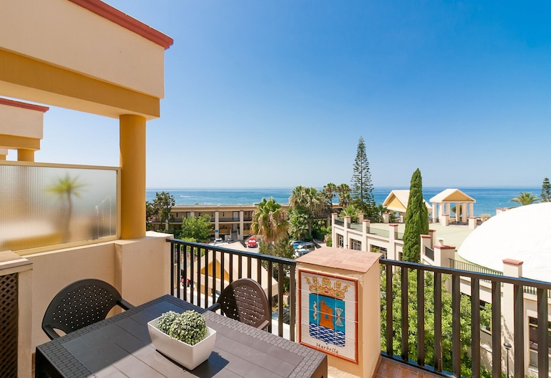 Elviria Seascape Canovas Apartment, Marbella, Leilighet, 1 soverom, terrasse, Terrasse/veranda