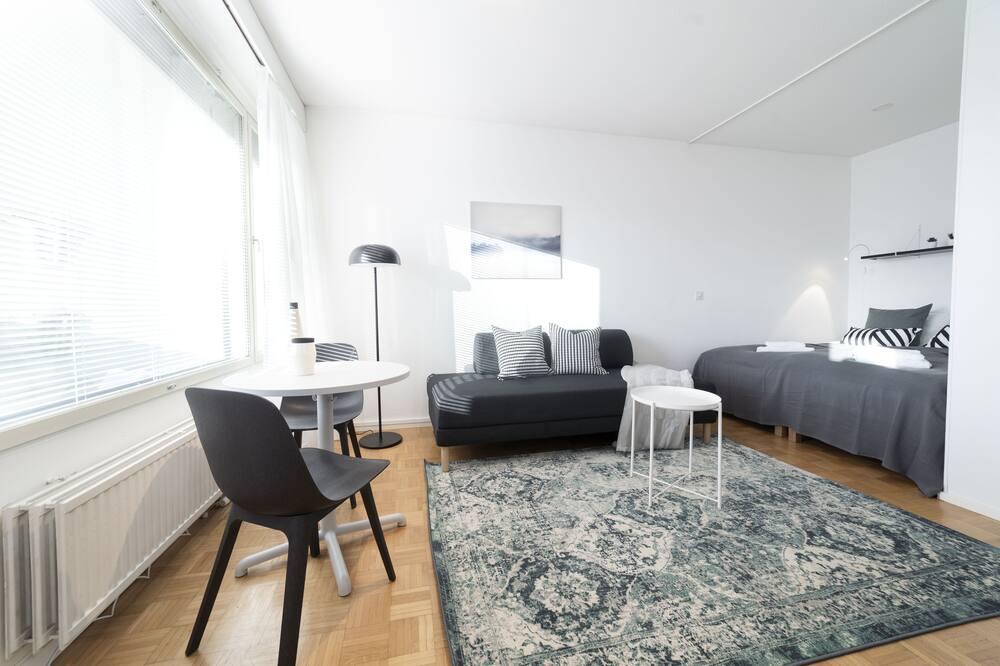 Studio, balkong - Oppholdsområde