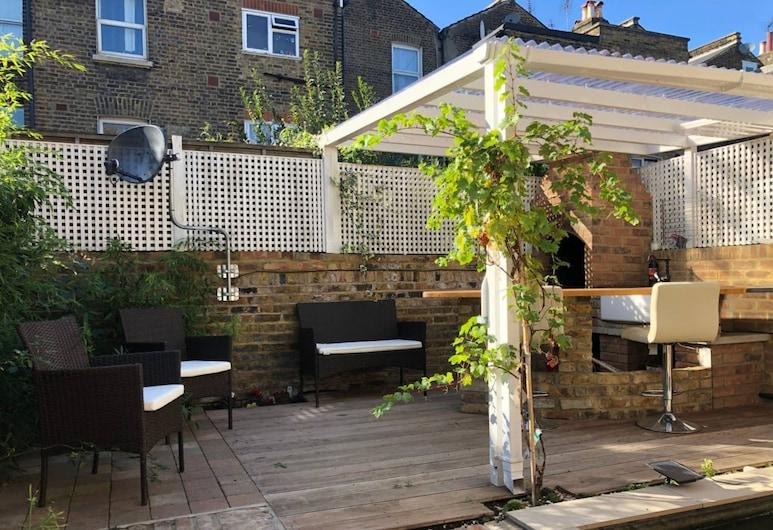 麥達維爾驚人 3 房花園公寓酒店, 倫敦, 露台